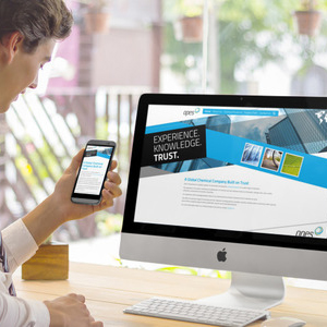 Opes International Limited - website on devices