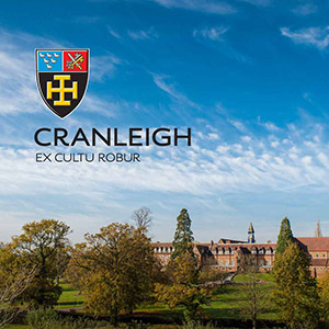 Cranleigh School logo evolution