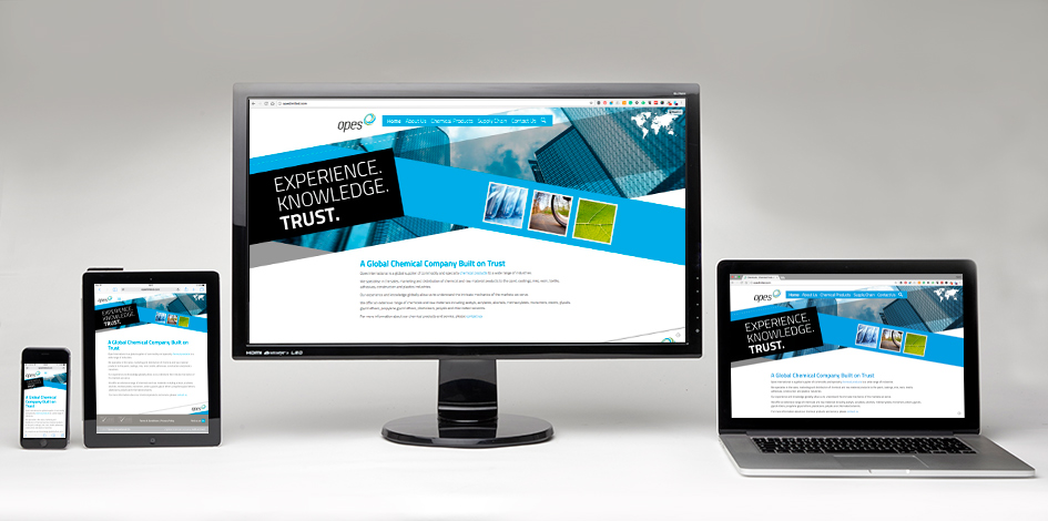 responsive web designs at Scream Blue Murder