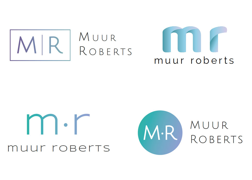 Suggested logos - creating a logo for Muur Roberts